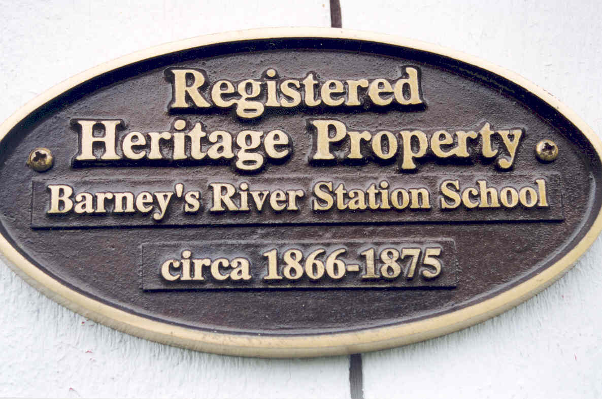 The Heritage Property Plaque